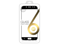 Folie Protectie ecran antisoc Samsung Galaxy J5 (2017) J530 Tempered Glass 5D Neagra Blister