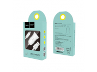 Incarcator Auto cu cablu MicroUSB HOCO, Z2, 1.5 A, 1 x USB, Alb, Blister
