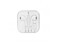 Handsfree Casti Bluetooth cu alimentare Lightning HOCO L7, Alb, Blister