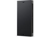 Husa Piele Sony Xperia XZ1 Compact, Neagra, Blister SCSG60