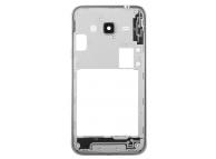 Carcasa mijloc Samsung Galaxy J3 (2016) argintie