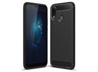 Husa TPU OEM Carbon Pentru Huawei P20 Lite, Neagra