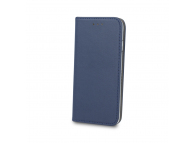 Husa Piele OEM Smart Magnetic Pentru Huawei P20 Lite, Bleumarin, Bulk