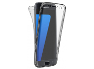 Husa TPU OEM Full Cover pentru Huawei P20 Lite, Transparenta, Bulk