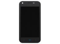 Display - Touchscreen Cu Rama, Negru ZTE Blade L110 (A110)