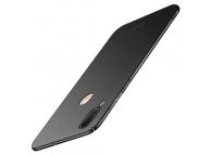 Husa Plastic Mofi Slim pentru Asus Zenfone Max (M1) ZB555KL, Neagra, Blister
