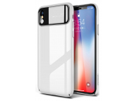 Husa Plastic Joyroom Ultra Slim pentru Apple iPhone X, Alba, Blister