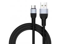 Cablu Date si Incarcare USB la USB Type-C Joyroom JR-S318, 3 m, Negru, Blister