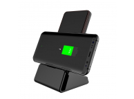Incarcator Retea Wireless Hamtod HLP3NF, Quick Charge, Negru, Blister