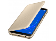 Husa Samsung Galaxy J6 J600, Flip Wallet, Aurie, Blister EF-WJ600CFEGWW