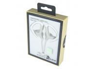 Handsfree Casti In-Ear Acura Sport, CU1300, Cu microfon, 3.5 mm, Alb, Blister