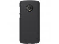 Husa Plastic Nillkin Frosted pentru Motorola Moto G6, Neagra, Blister