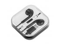 Handsfree Casti EarBuds OEM BLK, Cu microfon, USB Type-C, Negru, Blister