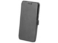 Husa Piele OEM Pocket pentru Nokia 6.1, Neagra, Bulk