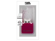 Husa Plastic Karl Lagerfeld Liquid pentru Apple iPhone 7 / Apple iPhone 8, Roz, Blister KLHCI8PABGFU