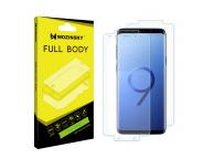 Folie Protectie fata si spate WZK pentru Samsung Galaxy S9 G960, Plastic, Full Cover, Blister
