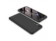 Husa Plastic OEM Full Cover pentru Huawei P20, Neagra, Bulk