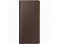 Husa Samsung Galaxy Note9 N960, Leather View, Maro, Blister EF-WN960LAEGWW