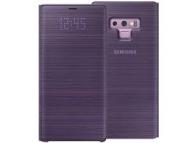 Husa Samsung Galaxy Note9 N960, Led View, Mov, Blister EF-NN960PVEGWW