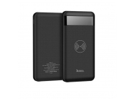 Baterie externa Powerbank cu incarcare wireless HOCO Astute J11 cu afisaj, 10000mAh Neagra Blister