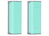 Baterie externa Powerbank HOCO Tiny B21A 5200 mAh Verde Blister