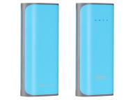 Baterie externa Powerbank HOCO Tiny B21A 5200 mAh Albastra Blister