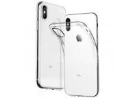 Husa TPU OEM pentru Apple iPhone X, Transparenta