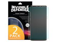 Folie Protectie Ecran Ringke pentru Samsung Galaxy Note8 N950, Plastic, Full Face, Set 2 buc, Blister
