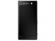 Display - Touchscreen Cu Rama Negru Sony Xperia M5 / Sony Xperia M5 Dual