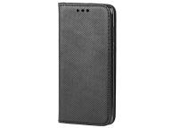 Husa Piele OEM Smart Magnet pentru HTC Desire 12, Neagra, Bulk