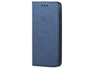 Husa Piele OEM Smart Magnet pentru HTC Desire 12, Bleumarin, Bulk