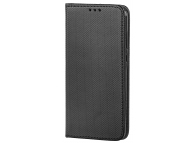 Husa Piele OEM Smart Magnet pentru LG K10 (2018), Neagra, Bulk