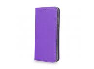 Husa Piele OEM Smart Magnet pentru LG K8 (2018), Mov, Bulk