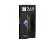 Folie Protectie Ecran OEM pentru Samsung Galaxy J4 J400, Sticla securizata, Full Face, Flexible, Neagra, Blister