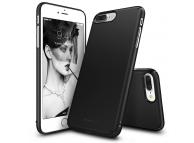 Husa Plastic Ringke Slim SLAP0022-RPKG pentru Apple iPhone 7 Plus / Apple iPhone 8 Plus, Neagra, Blister