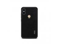 Husa Piele Mofi Cloth pentru Xiaomi Mi 8, Neagra, Blister