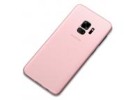 Husa Plastic Cafele UltraSlim pentru Samsung Galaxy S9 G960, Roz, Blister
