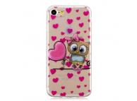 Husa TPU OEM Love Owl pentru Apple iPhone 7 / Apple iPhone 8, Multicolor, Bulk