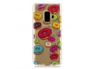 Husa TPU OEM Donut pentru Samsung Galaxy S9 G960, Multicolor, Bulk