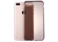 Husa TPU Haweel pentru Apple iPhone 7 Plus / Apple iPhone 8 Plus, Gri, Blister