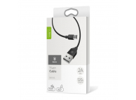 Cablu Date si Incarcare USB la MicroUSB Baseus Yiven, 1.5 m, Negru, Blister