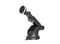 Suport Auto Universal Baseus pentru telefon, Telescopic Magnetic, Argintiu, Blister