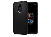 Husa TPU Spigen Liquid Air pentru Xiaomi Redmi Note 5 (Redmi 5 Plus), Neagra, Blister S10CS23176