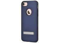 Husa TPU DEVIA iStand pentru Apple iPhone 7 / Apple iPhone 8, Albastra, Blister