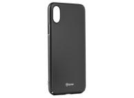 Husa Plastic Roar Darker pentru Apple iPhone X, Neagra, Blister
