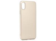 Husa Plastic Roar Darker pentru Apple iPhone X, Aurie, Blister