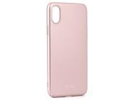 Husa Plastic Roar Darker pentru Apple iPhone X, Roz Aurie, Blister