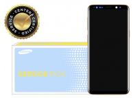 Display - Touchscreen Auriu, Cu Rama Samsung Galaxy S9+ G965 GH97-21691E