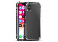Husa TPU iPaky Crystal Antisoc pentru Apple iPhone X, Transparenta, Blister
