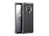 Husa TPU iPaky Crystal Antisoc pentru Samsung Galaxy S9 G960, Transparenta, Blister